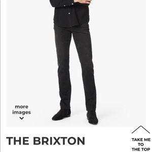 "🆕Joe's Jeans "" The Brixton"" ink wash 32X33 EUC"
